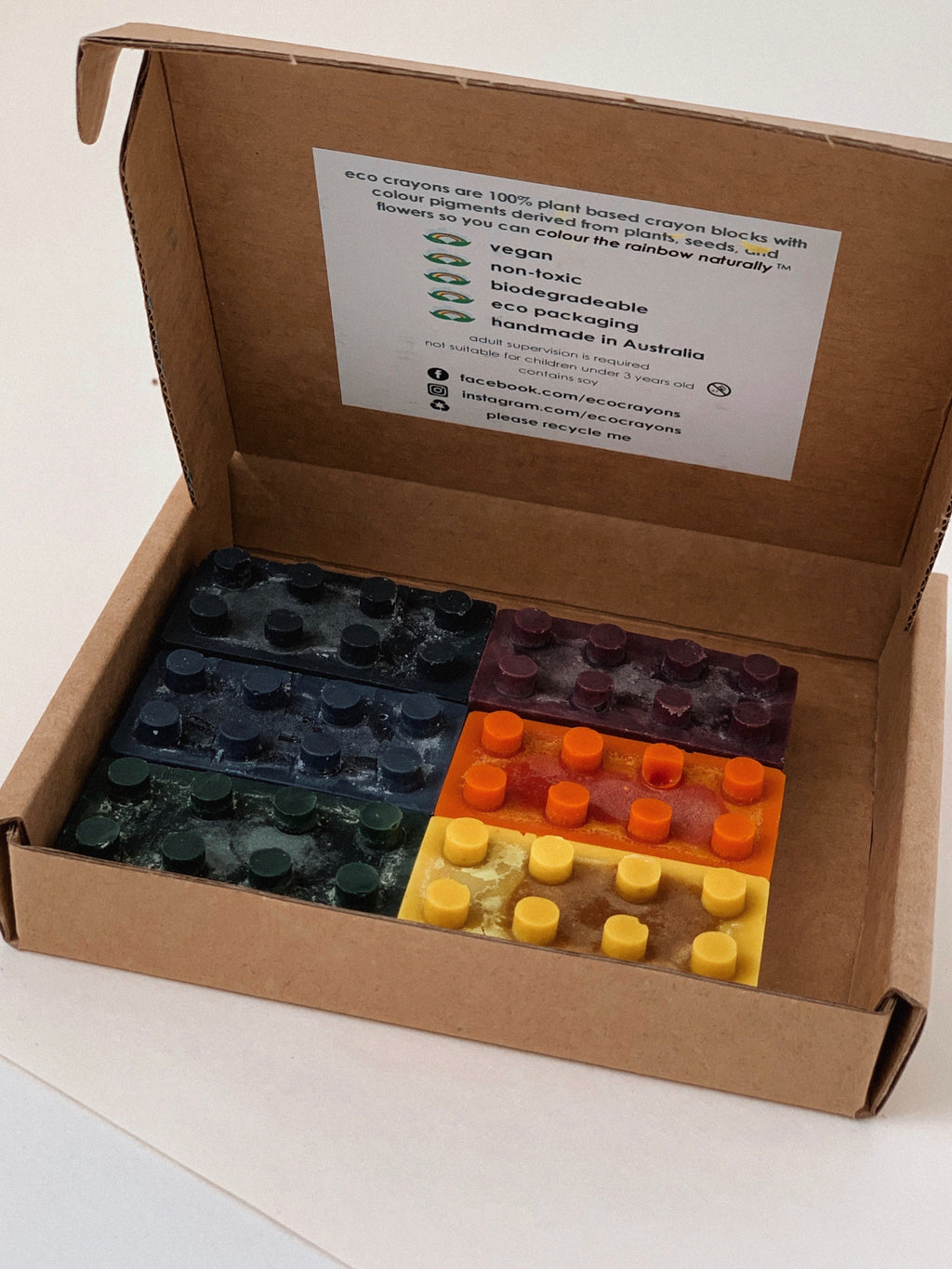 Eco Crayons | Bricks