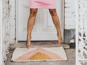 Arrow Gold Doormat