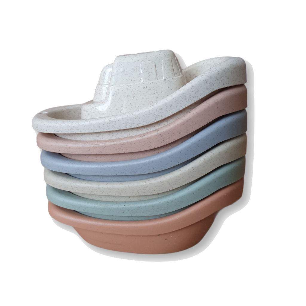 Wheat Straw Bath Boat Set