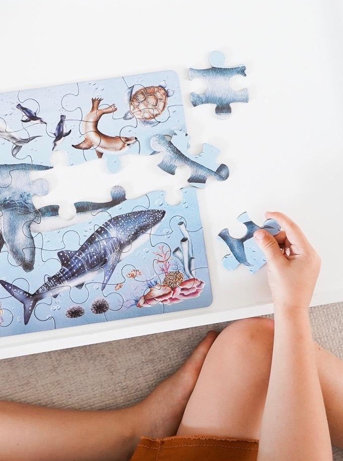 "Ocean ""Take Me With You"" Puzzle"
