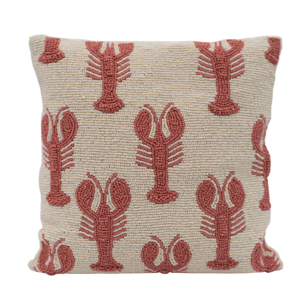 À La | Beads Cushion Lobsters
