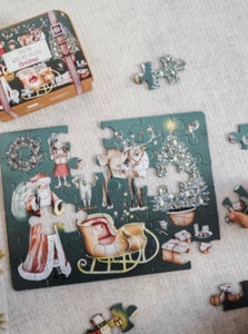 "Christmas ""Take Me With You Puzzle"""