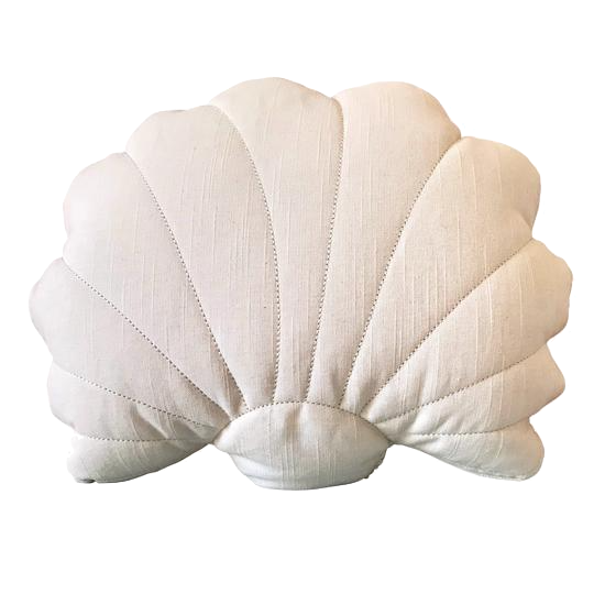 Shell Cushion - Blush Pink