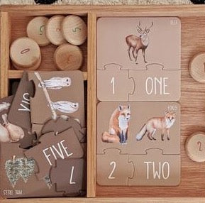 Woodland Counting Puzzle