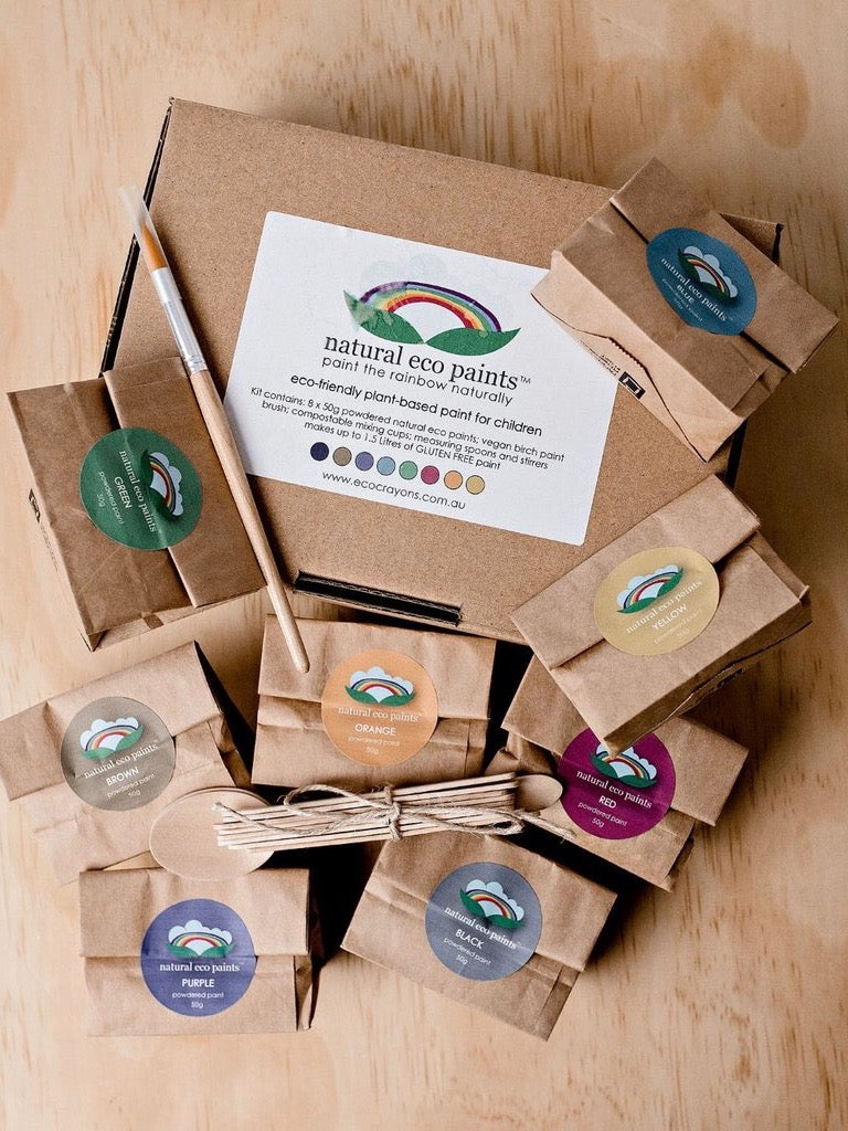 Natural Eco Paints Set