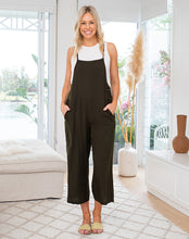 Load image into Gallery viewer, Khaki Overalls