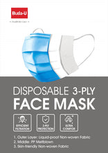 Load image into Gallery viewer, Carton of 2,000 | 3-Ply Protective Face Mask | $640