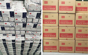 Carton of 2,000 | 3-Ply Protective Face Mask | $640