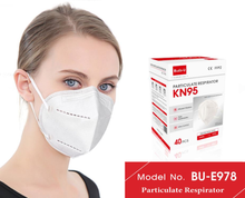 Load image into Gallery viewer, CDC Approved | Box of 40 | KN95 Mask | BU-E978