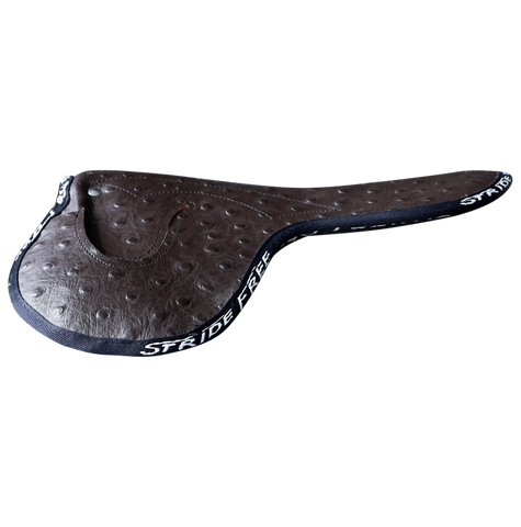 195g Aero Race Saddle Ostrich Print