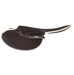 600-700g Race Saddles Brown Goat Leather Forward Cut
