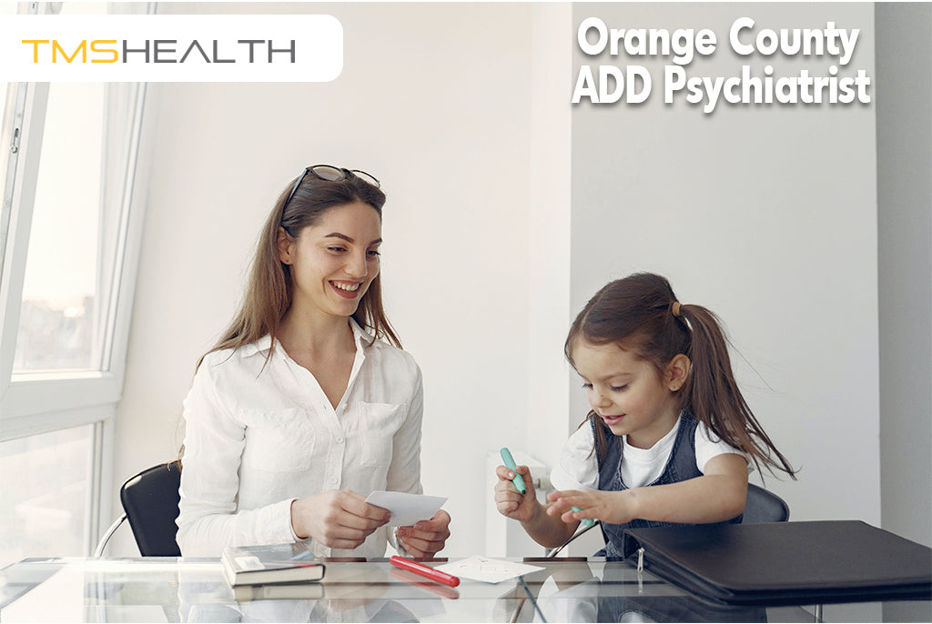 ADD child getting therapy
