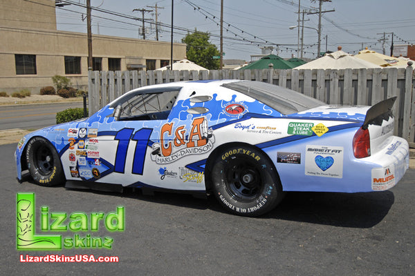 Autism NASCAR Display Car