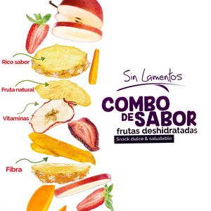 Beneficios de Snack Combo de Sabor Mezcla de Frutas Deshidratadas | Dried Fruits Mix Snack Benefits