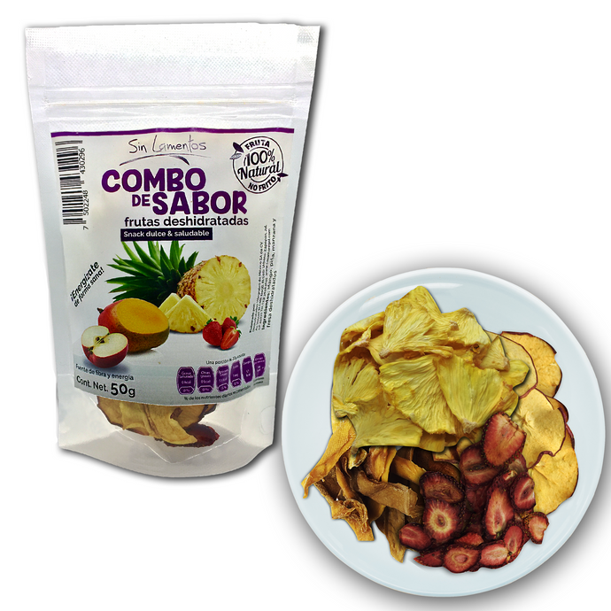 Snack Combo de Sabor Mezcla de Frutas Deshidratadas | Dried Fruits Mix Snack