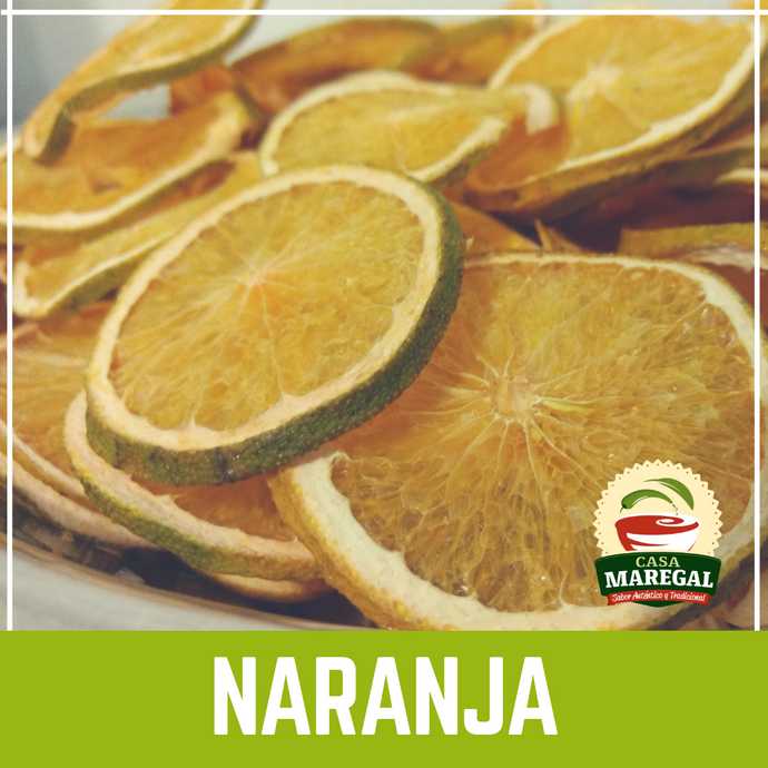 Naranaja Deshidratada | Dried Orange