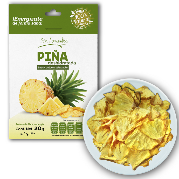 Snack de Piña Deshidratada | Dried Pineapple Snack