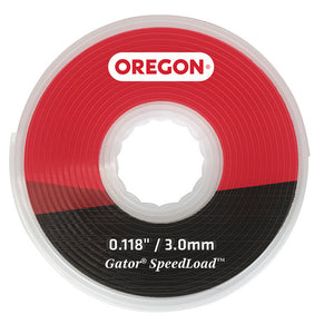"Oregon Gator SpeedLoad Replacement Trimmer Line, Large Disc .118"" - (10 Pack) 24-518-10"
