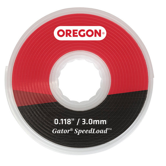 Oregon Gator SpeedLoad Replacement Trimmer Line, Large Disc .118