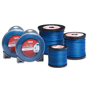 "OREGON TRIMMER LINE 20-125 GATORLINE, PLATINUM .118"" 3LB SPOOL 554'"