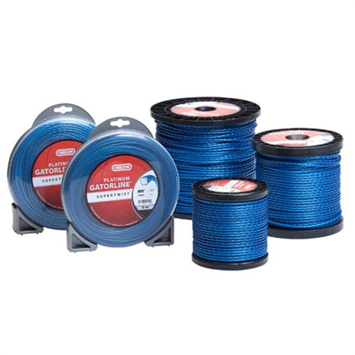 OREGON TRIMMER LINE 20-125 GATORLINE, PLATINUM .118