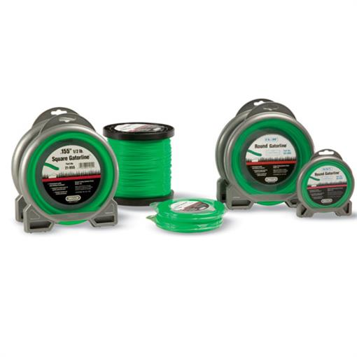 OREGON TRIMMER LINE 21-005 GATORLINE, SQUARE .105 5LB SPOOL 896'