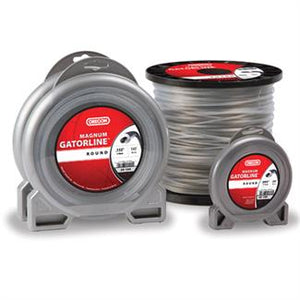 "OREGON TRIMMER LINE 22-070 GATORLINE, MAGNUM SQUARE .170"" 5LB SPOOL 354'"