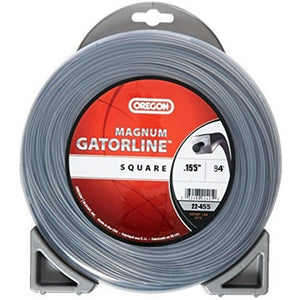 "OREGON TRIMMER LINE 22-455 GATORLINE, MAGNUM SQUARE .155"" 1LB DONUT 84'"