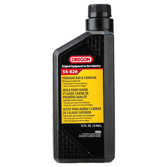 Oregon Guide Bar & Chain Oil 1 Quart 54-026