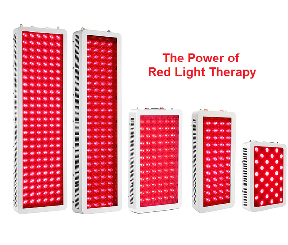 RED & INFRARED LED LIGHT THERAPY LIGHTS