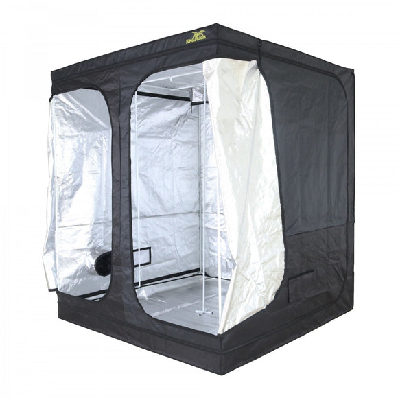 Jungle Room PRO Grow Tent 2 x 2 x 2.3m (High Ceiling) Mylar Silver