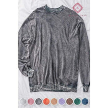 Load image into Gallery viewer, Acid Wash Hoodie - S / Black - Top
