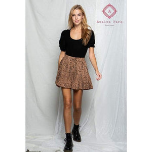 BaeVely Pleated Shorts - Bottoms