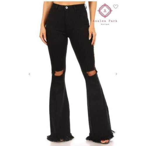 Bianca Flare Jeans - Bottoms