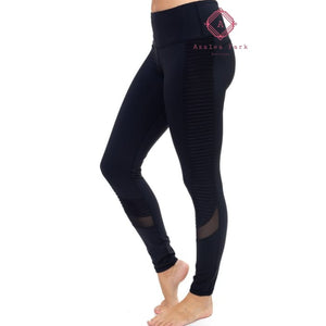 Black Active Leggings - Bottoms
