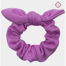 Load image into Gallery viewer, Bow Scrunchie - Purple - Hats & Hair Accessories