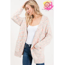 Load image into Gallery viewer, Carolines Cozy Cardigan - Plus Tops