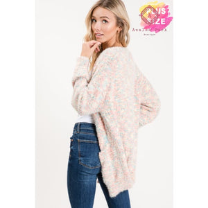 Carolines Cozy Cardigan - Plus Tops