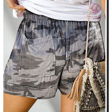 Load image into Gallery viewer, PRE-ORDER Casual Pocket Drawstring Shorts - Bottoms