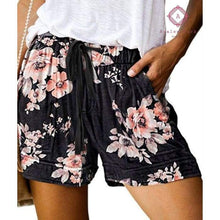 Load image into Gallery viewer, PRE-ORDER Casual Pocket Drawstring Shorts - S / Floral - Bottoms