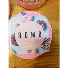 Load image into Gallery viewer, Donut Worry Be Happy Bathbomb - Bath