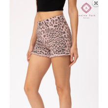 Load image into Gallery viewer, Dusty Pink Leopard KanCan's - Bottoms