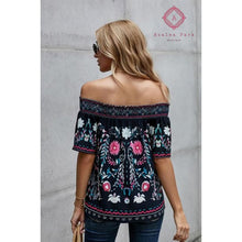Load image into Gallery viewer, Floral Shift Top - Top