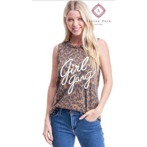 Girl Gang Tank - Small - Top