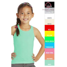 Load image into Gallery viewer, Girls Solid Racerback Tank - Girls Tops