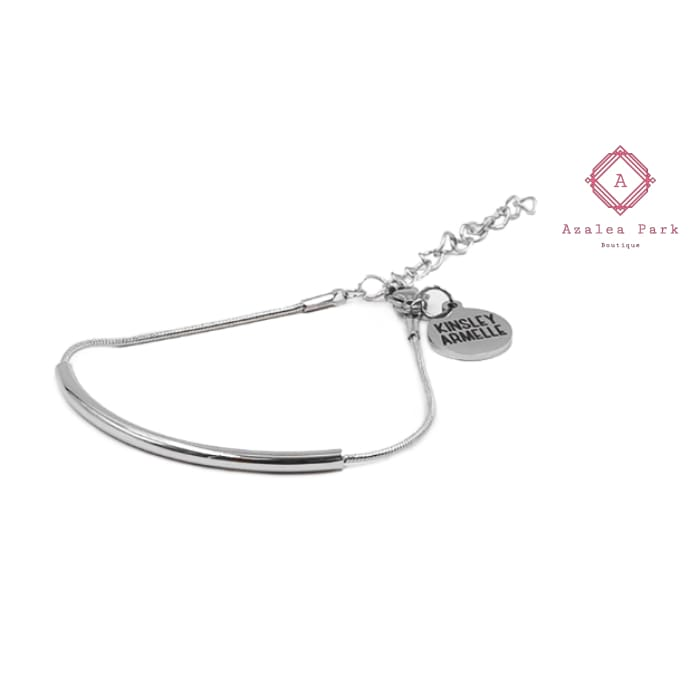 Goddess Collection - Silver Lyssa Bracelet - Kinsley Armelle