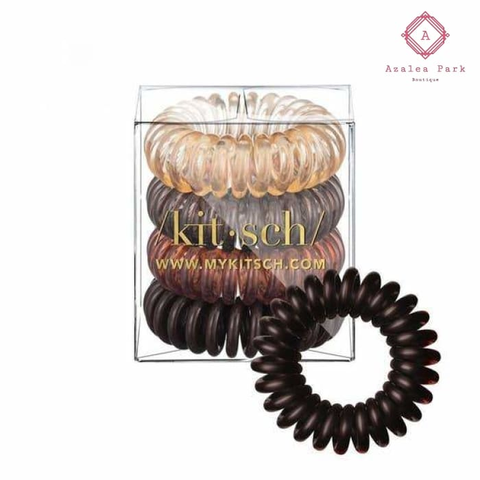 Hair Coils - Brunette - Hats & Hair Accessories