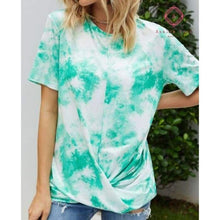 Load image into Gallery viewer, PRE-ORDER Hang Around Tie Dye Tee - S / Green - Top