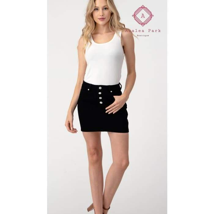 High Waist Mini - Young Contemporary Bottoms