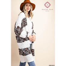 Load image into Gallery viewer, Honeybee Fuzzy Cardigan - Top